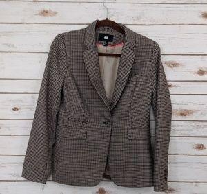 H &M Brown Blazer Size 10